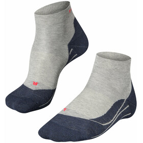 Falke RU4 Kurze Laufsocken Damen light grey